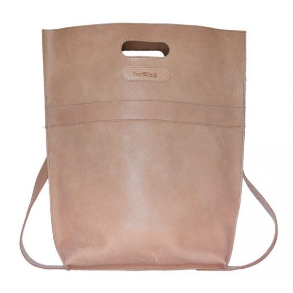 Handgemaakte Lederen tas van PimpsandPearls