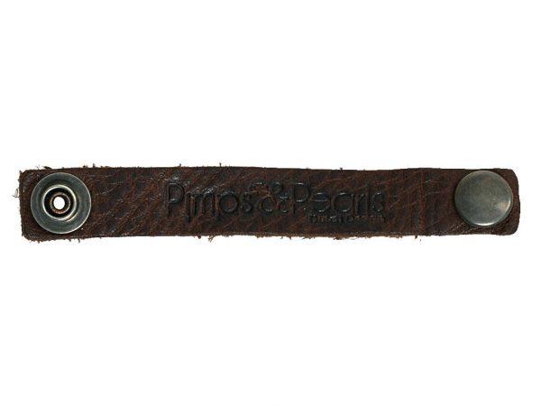 Lederen bindbandje voor je armband PimpsandPearls