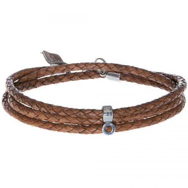 Lederen armband ketting van PimpsandPearls