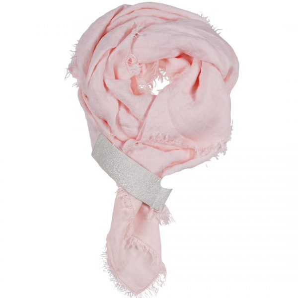 Linnen sjaal met Vegan lus om je sjaal te stylen by PimpsandPearls