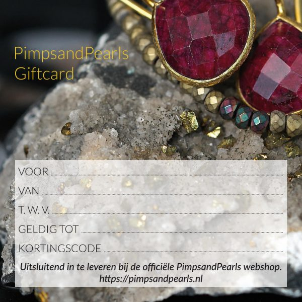 670 Giftcard PimpsandPearls achterkant