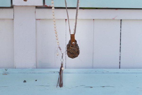 necklace bronsite gemstone