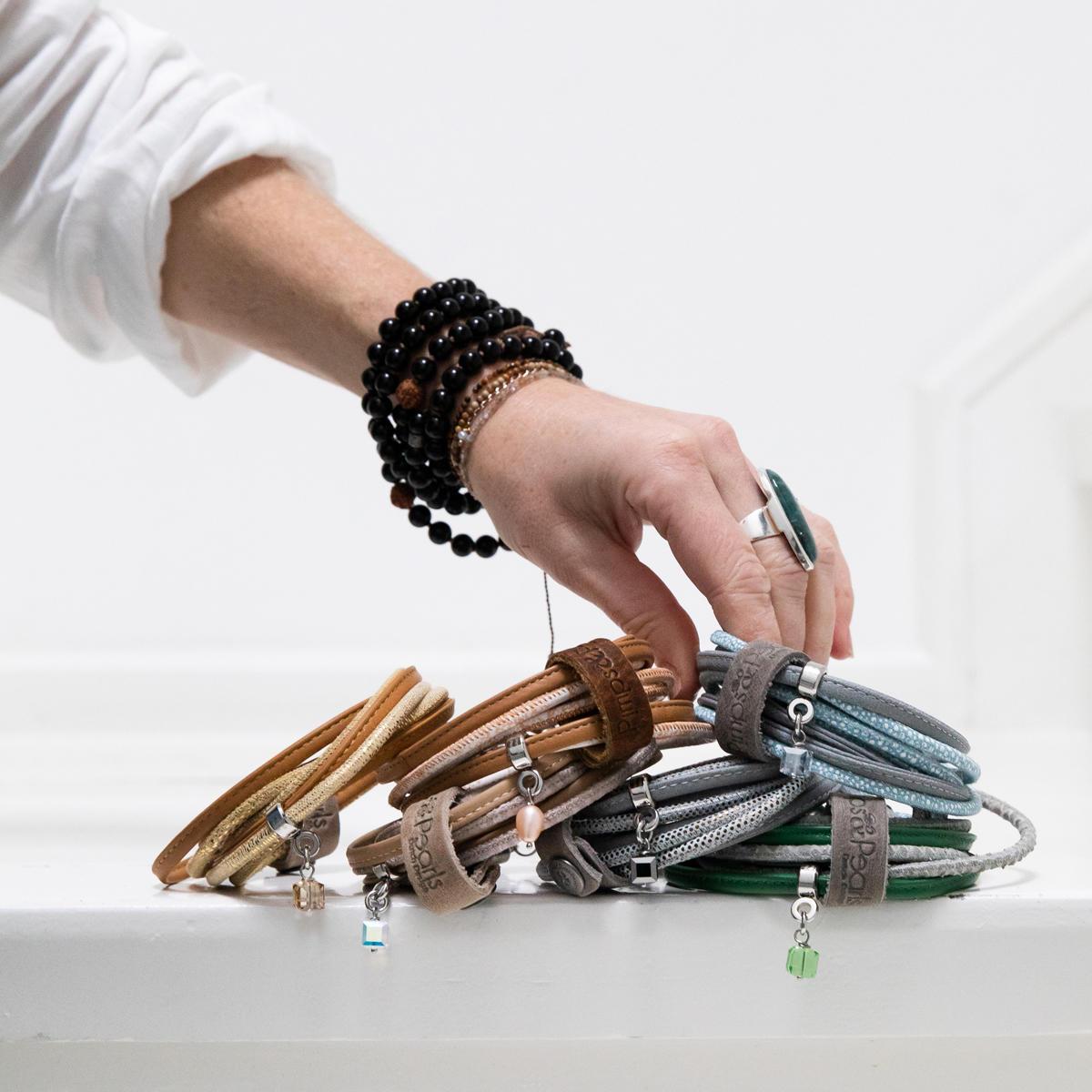 280 Moesss Floral armband ketting