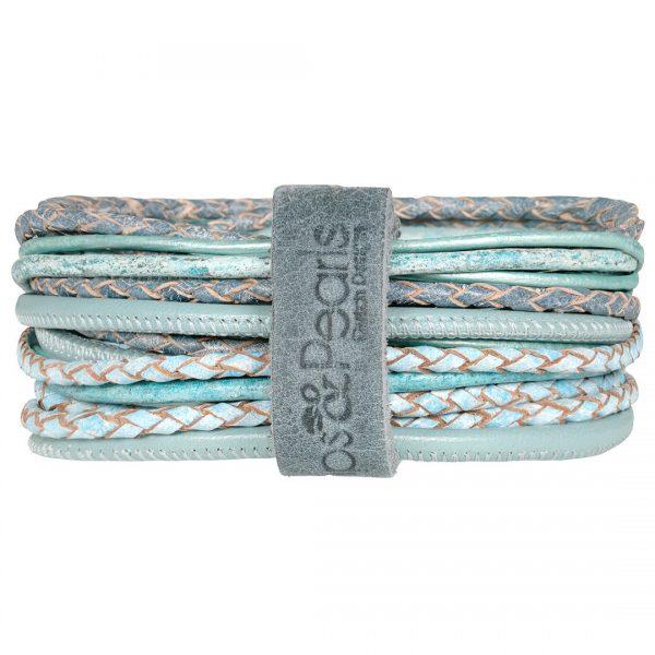 Lederen Bracelet Superior armband en of ketting