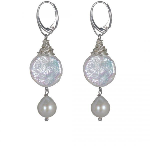 Fruity Pearls oorbel Duo