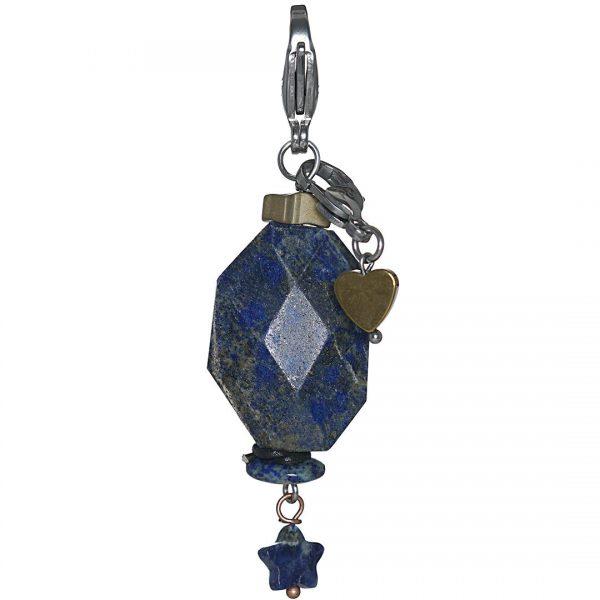 Handgemaakte edelsteen bedel Lazuli