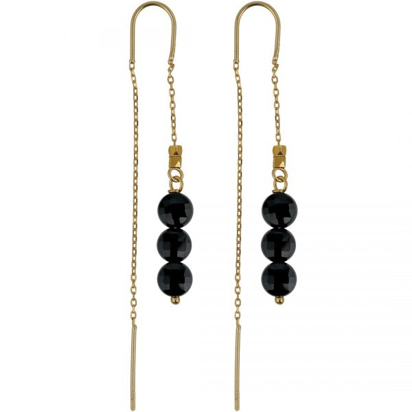 Ear Fashion Obsidaan Gold