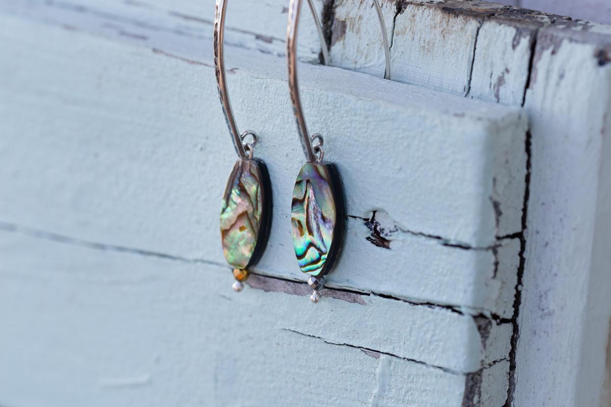 Ear fashion Trend Alert Abalone