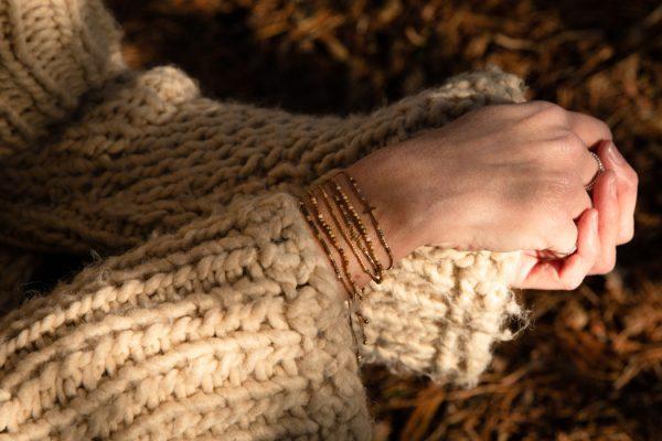 bracelets Miyuki Gemstones