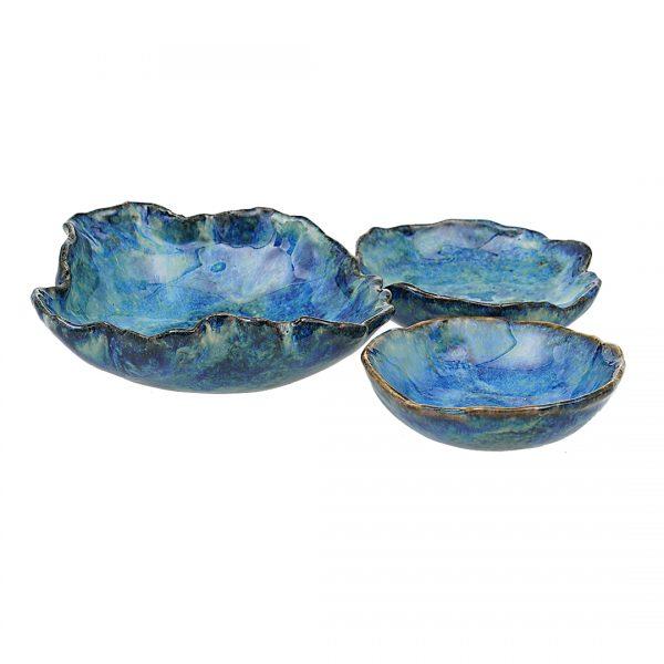 Schaaltjes Set Zee Blauw