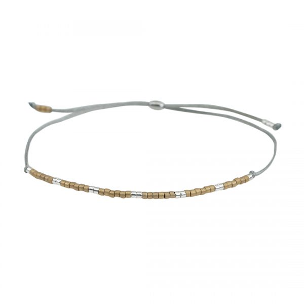Miyuki fijne armband naturel Presents and Pearls