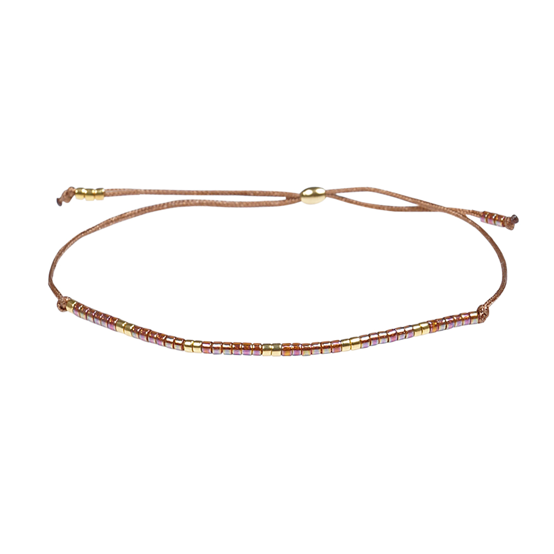 Miyuki fijne armband rood Presents and Pearls