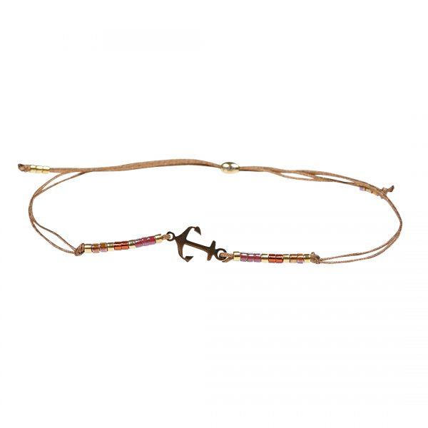 Miyuki fijne armband rood Hope Presents and Pearls