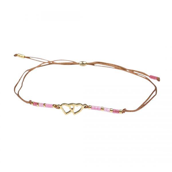 Miyuki fijne armband rose Love Presents and Pearls