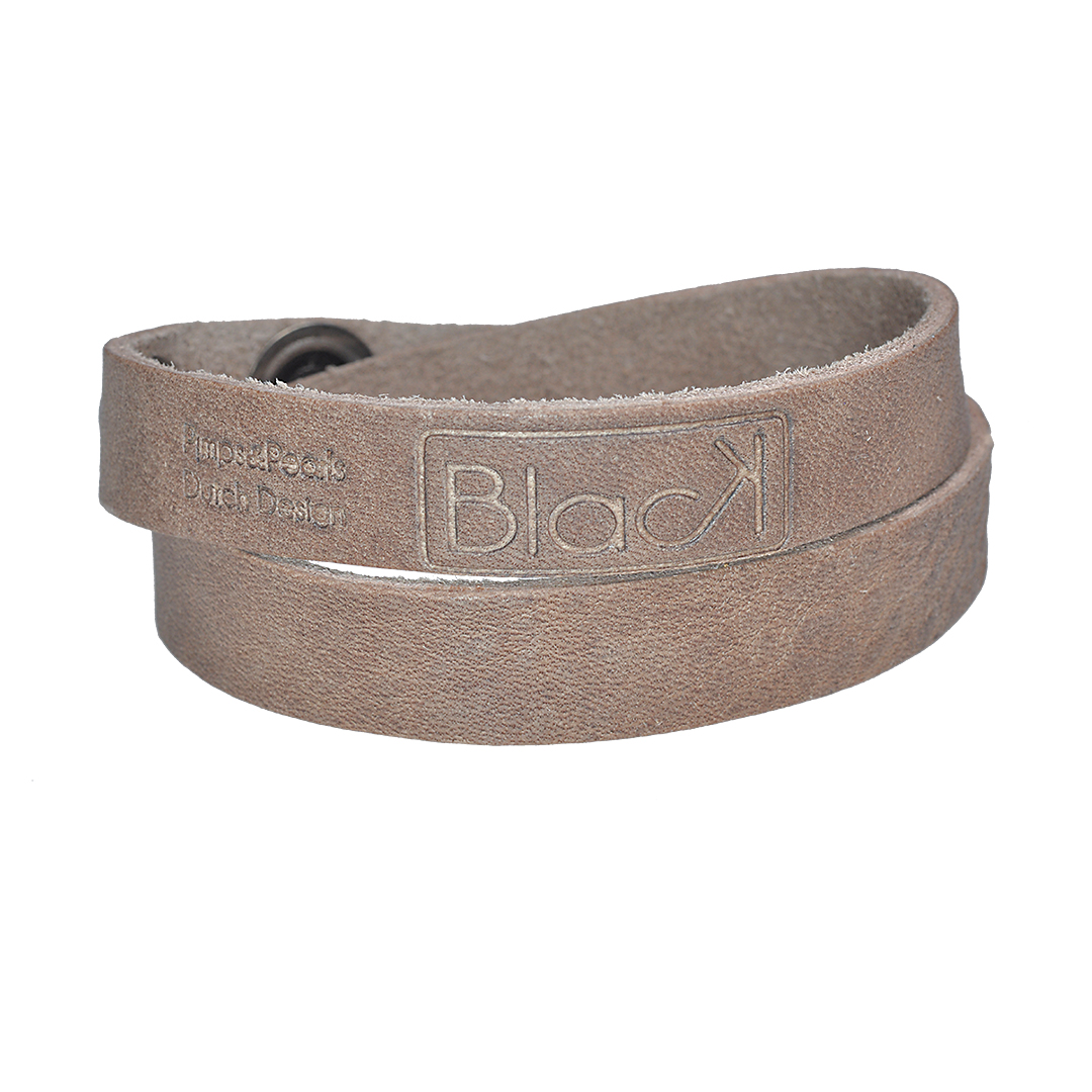 Leder armband voor mannen