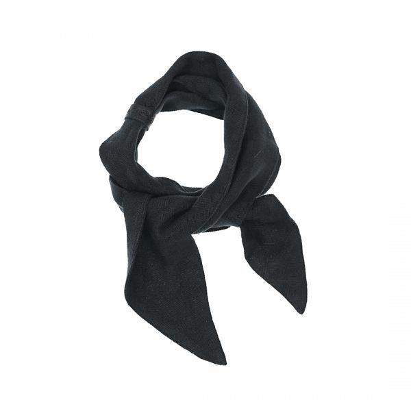 Linnen Bandana mat zwart Dress2Kill