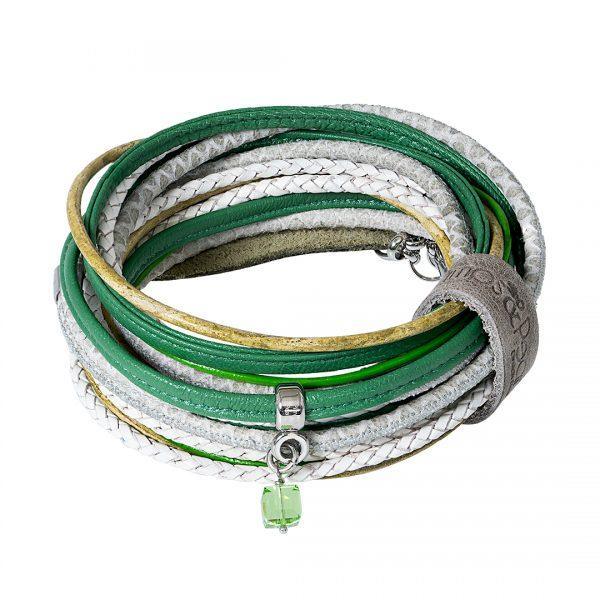 Handgemaakte Lederen Superior armband en of ketting