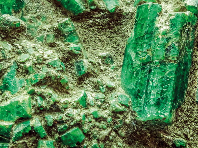 Emerald Smaragd maand mei edelsteen