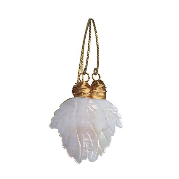 Edelsteen Oorbellen Goud parelmoer schelp Liberty Fruity Pearls