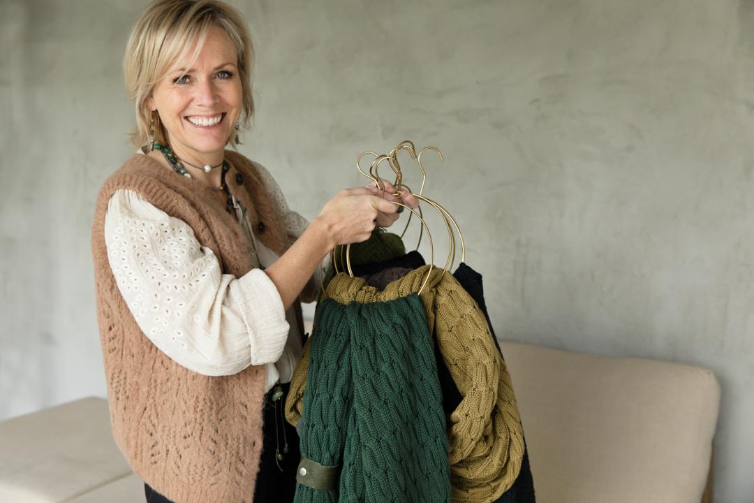Big Knit katoen sjaal PimpsandPearls